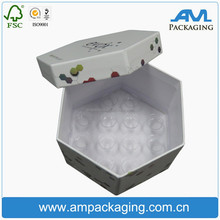 Professional China supplies Recycled chocolate gift packaging box with plastic PET tray