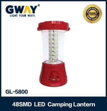 portable emergency camping lantern rechargeable 48pcs of 5730SMD LED
