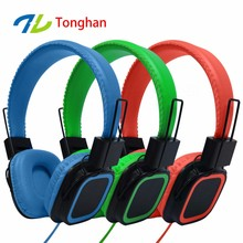 Hot selling promotion headphones custom branded super bass headset from factory