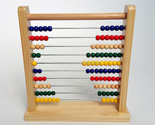 colorful bead abacus wooden toy for kids preschool math counting