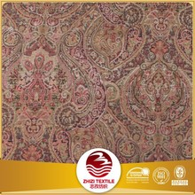 Export to Middle East of 100% polyester jacquard chenille bedspread fabric