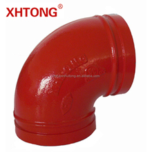 FM/UL Approved Ductile Iron 90 Degree Elbow