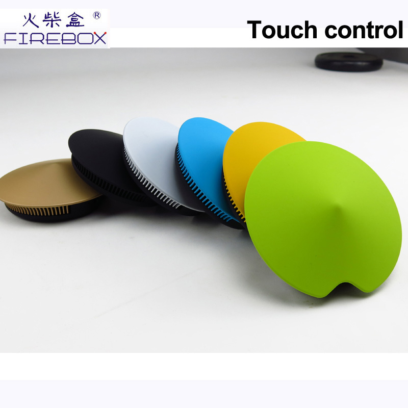 2015 new hot selling touch screen flying saucer UFO-shaped mini portable cheap bluetooth wireless speaker with TF card
