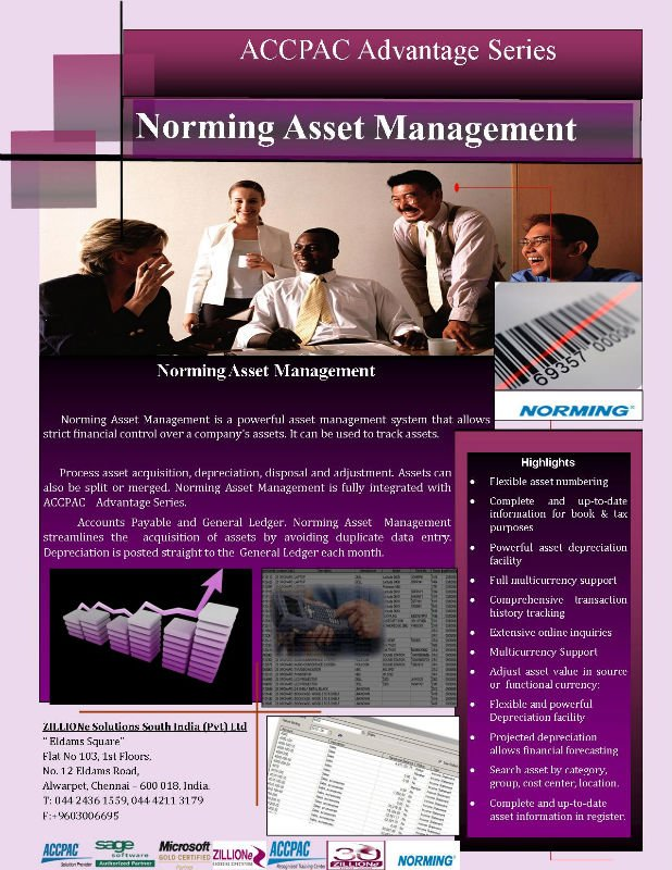 Sage Fixed Asset management Solution
