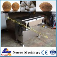High speed automatic coconut sheller machine /coconut husker for industrial/coconut husk fiber making machine