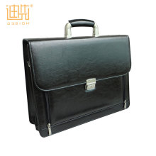 Travel laptop pu leather messenger executive mens portable business bag briefcase