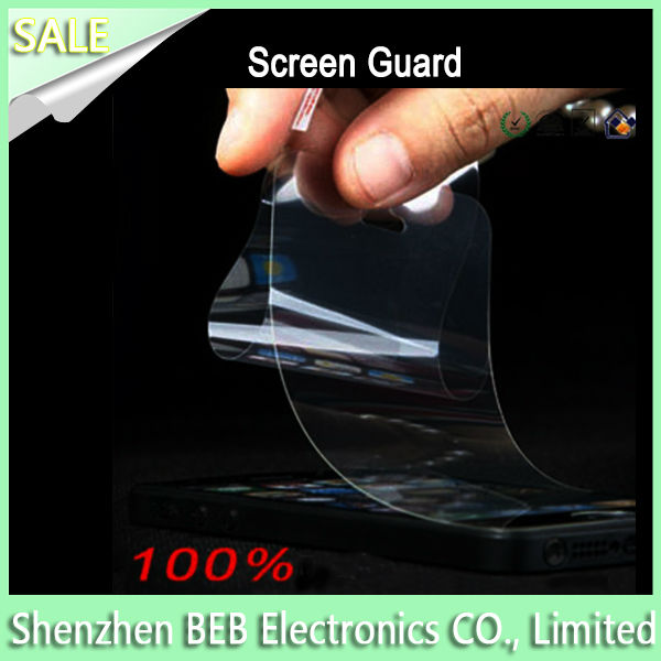 Top quality removable screen protector for iphone4s has cheap price