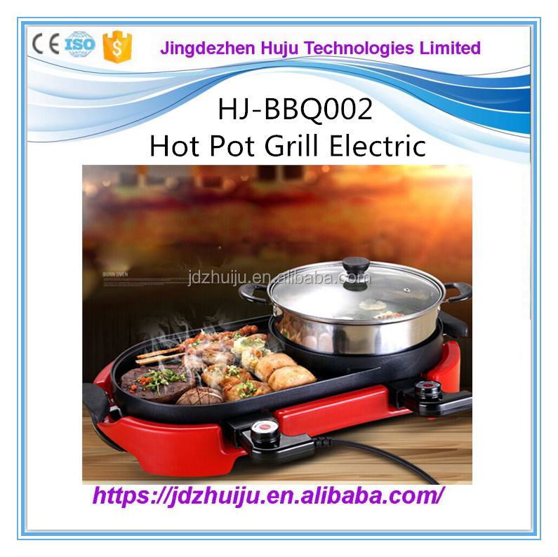 hot selling temperature controlled barbecue grill electric bbq grill