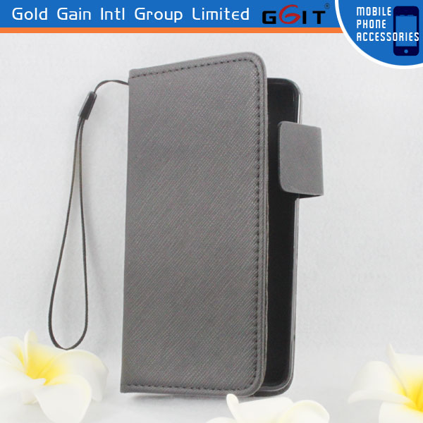 Elegant Flip Cover PU Case For Huawei G510 Wallet Case With Credit Card Holder