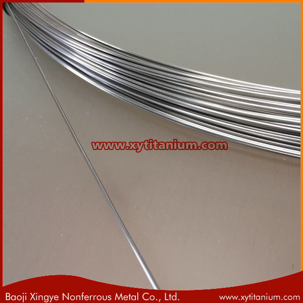 2mm 3mm Medical Nitinol Wire for Endodontic File Production