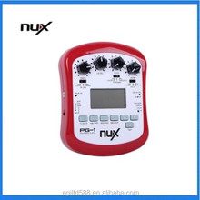 NUX PG-2 Electric Guitar Effect 24bit Multifunctional Portable 18 Types of Preset Guitar Parts for Music Instruments Wholesale