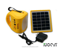 outdoor hand emergency portable USB charge solar flood light with radio function