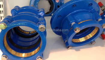 Restrained Coupling for HDPE pipe