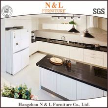 kitchen cabinet end shelf,stainless steel commercial kitchen cabinet,used kitchen cabinet doors (N&L furniture)