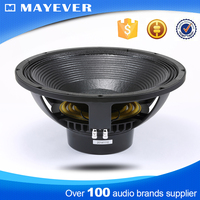 LF15ND500 powered 500w professional loud speaker 15 inch dual subwoofer box