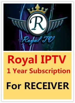 1 year Royal IPTV subscription for Tiger receiver and Android box