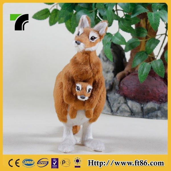 different kinds of handicraft plastic mold kangaroo toy