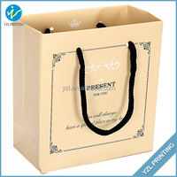Luxury Shopping Cheap Recycle Brown Paper Bags