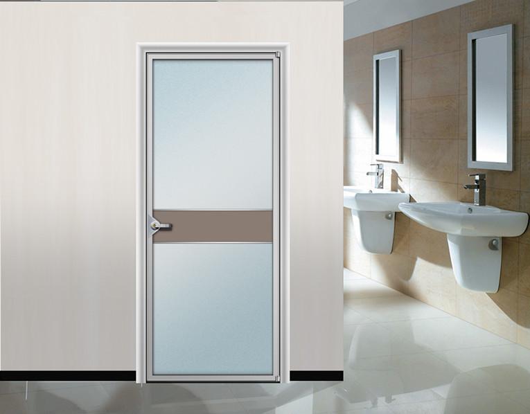 Toilet door aluminum frame interior door buy toilet door for Aluminium bathroom door designs