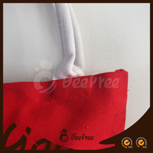 New Arrival Colorful Tote Shopping Eco-friendly Handbag Customized Promotional Logo Printed Tote Bag