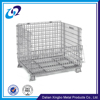 Galvanized folding stackable wire mesh stackable steel cages