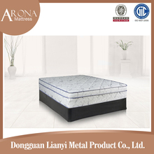 China wholesale bed mattress king single roll packing Soft luxury euro spring mattress