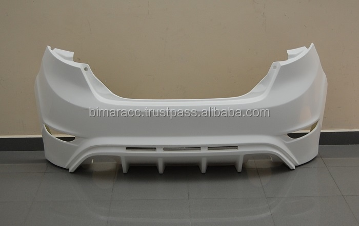 Rear bumper to ford fiesta 2009- look RS