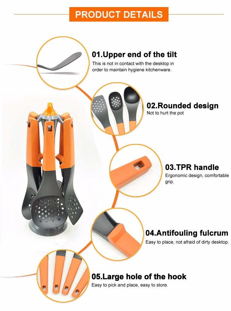 Nylon plastic innovative funny kitchen tools and utensils for Innovative kitchen utensils