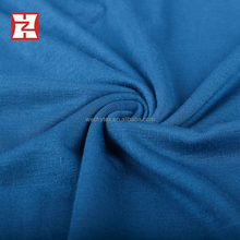 micro fiber elastic rayon single jersey double dyed types of blouse fabric logo