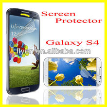 Ultra Thin Transparent HD Screen Guard Front Clear Screen Protector for Samsung Galaxy S4 i9500 Cell Phone Screen Protector 2013