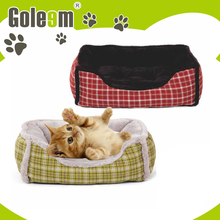 europe style warm modern design poly rattan dog bed