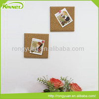 China Factory custom size design notice cork board for home decoration