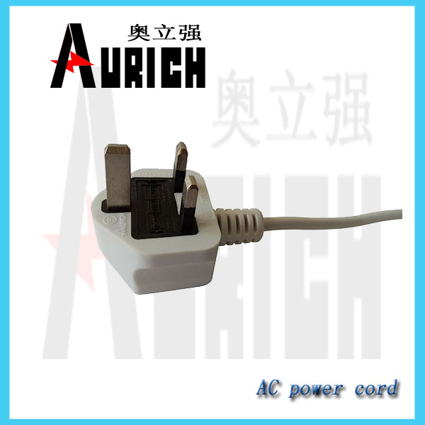 3 square pin plug 3 core 4mm flexible cable power cord with adapter e27 to e26 3 square pin plug