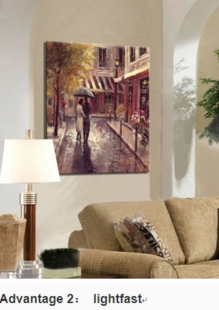 High Quality Handmade Canvas Scenery Art Painting