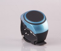 Bluetooth Movement Music Watch Portable Mini Watch Bluetooth Speaker TF Card FM Audio Radio