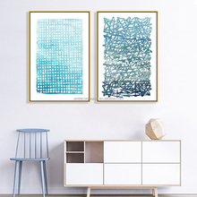 Nordic Style Simple and fresh decorative paintings wall art poster prints