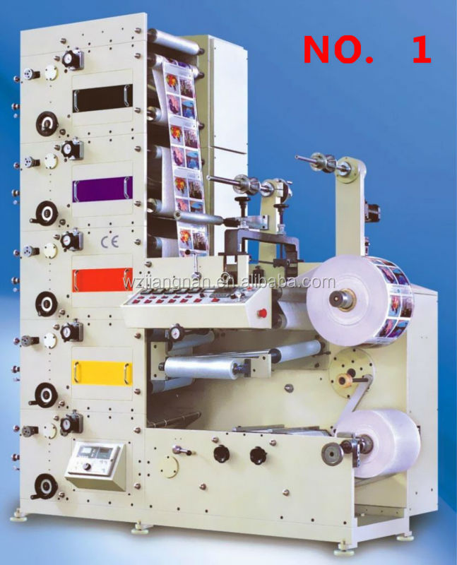 4 color flexo lable printing machine