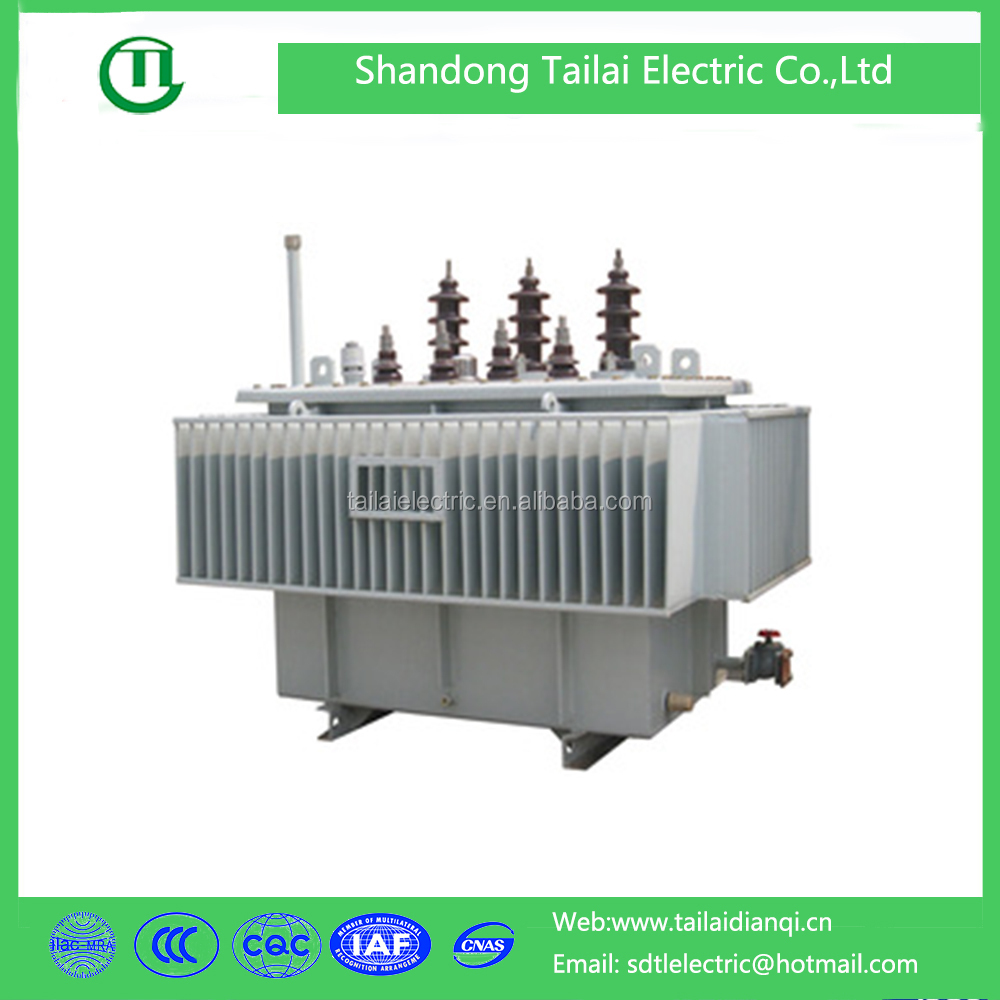 Electrical equipment SBH15 series 2500kva distribution power transformer with low price
