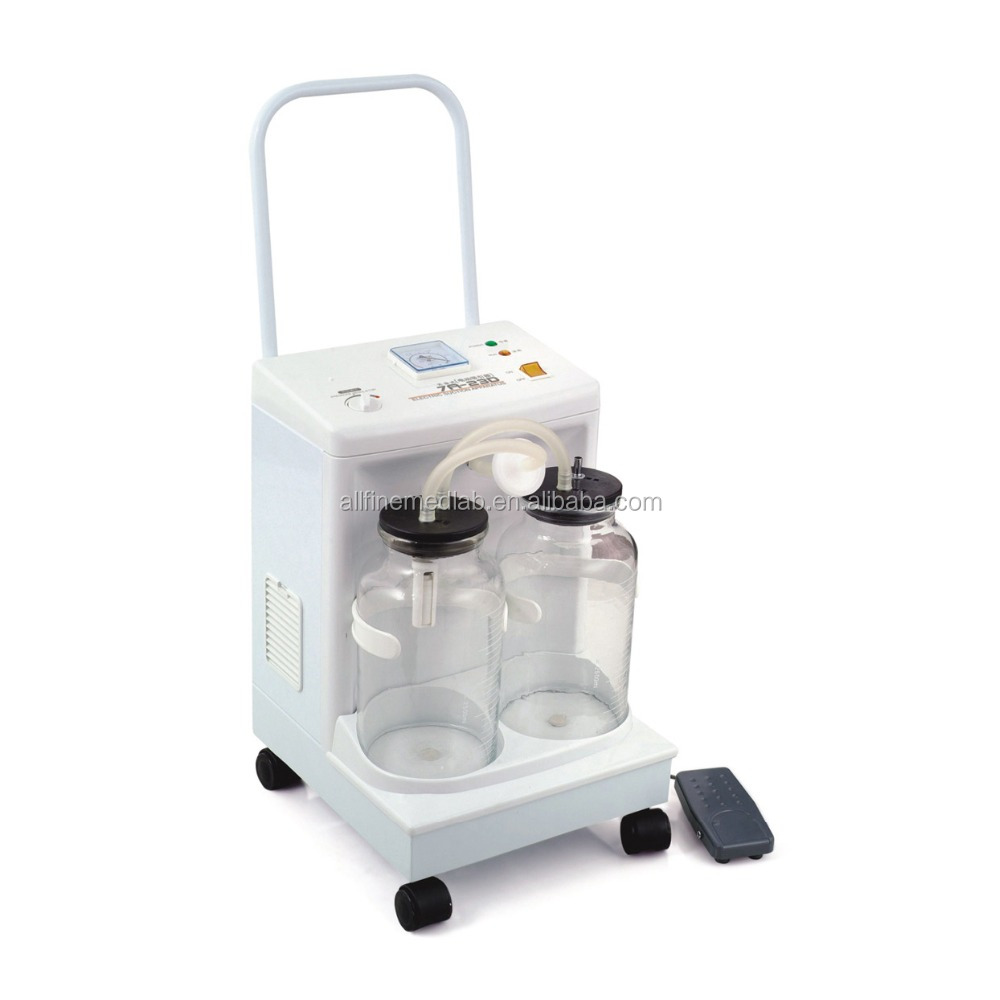 With 2 Bottles 150VA/5000ml 20L/min Electric Suction Machine