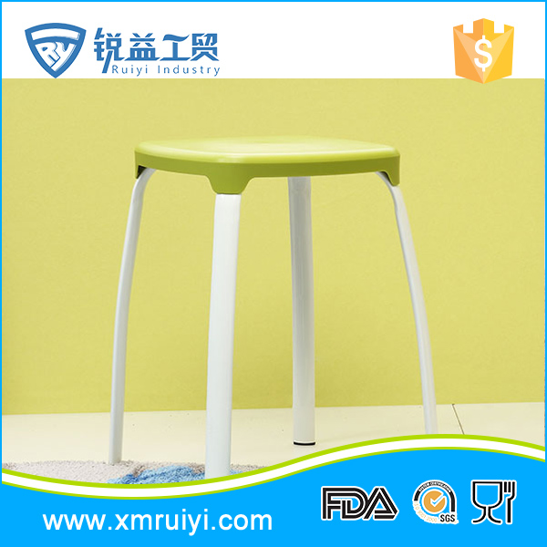 China manufacturer custom colorful durable plastic bathroom stool