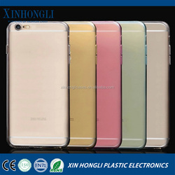 Protect the cell phone camera ultra-thin soft shell color drop transparent TPU case For iPhone6