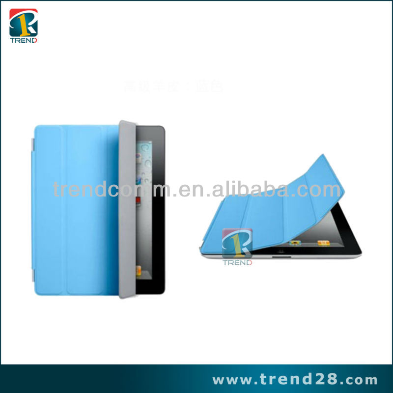 Cheap Folding PU Leather case for Ipad2