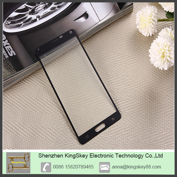 high quality fashionable various color screen protector phone tempered glass for Samsung Galaxy note 4 screen glass