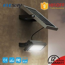 New product 2017 outdoor motion detector integrated solar flood lights