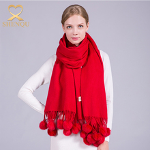 New Arrival Solid Colorindian Wool Shawl Fashionable Scottish Cashmere Scarf Plain Pashmina Shawl