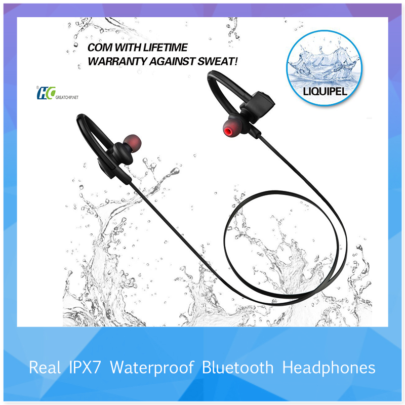 HT-U12 CSR8645 chipset <strong>bluetooth</strong> V4.1 waterproof IPX7 best workout headphones for wholesale