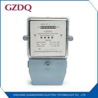 Best seller low power consumption remote control electronic watt-hour meter