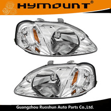 Headlamp assembly left and right OE 33151-S01-A02 33101-S01-A02 for Civic 1999-2000 headlight HO2502113 HO2503113