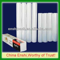 Pe Plastic Cover Food Packaging Transparent Pe Clear Plastic Wrap Film