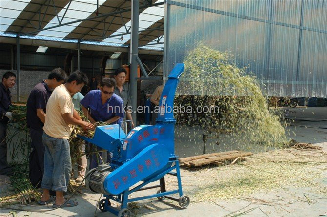 Wholesale hand operated chaff cutter/agricultural electric chaff cutter/animal feed farm corn straw stalk chaff cutter